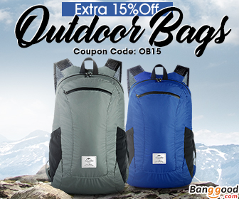 15% OFF for Outdoor Bags