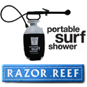 Portable Surf Shower by Razor Reef