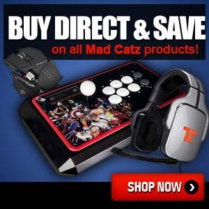 Buy Direct and Save on All Mad Catz Products