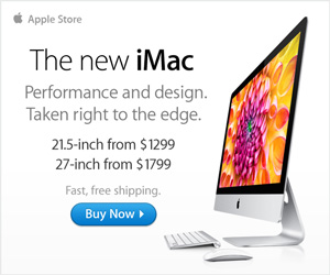 The new iMac. Performance and design. Taken right to the edge.