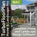 3D Home and Landscape Pro for Mac - no experience required, simply drag and drop to plan.