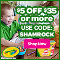 $5 Off $35+ with SHAMROCK