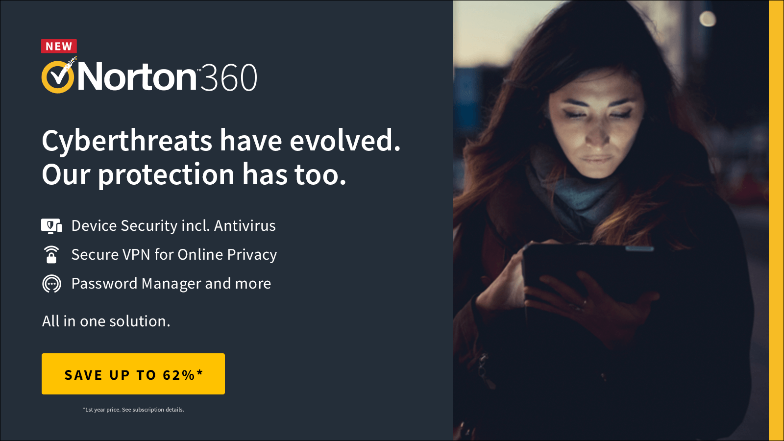 Norton360 by Symantec 1600x900