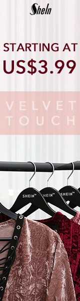 Velvet Touch Sale - Items starting at $3.99 at us.SheIn.com! Ends 1/23