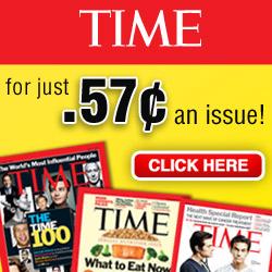 Save 87% on Time Magazine!