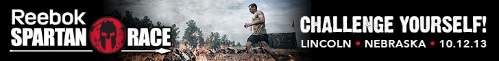 Nebraska Spartan Sprint, October 12 &13, 2013, Sign Up Now for this Reebok Spartan Race!