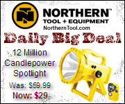 Daily Big Deal at Northerntool.com