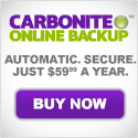 Protect your files with Carbonite Online
