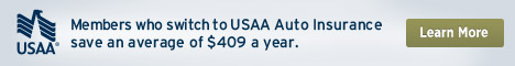 Save an average of $450 with USAA Auto Insurance