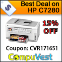 HP PhotoSmart C7280 All-in-One Printer!! 15% OFF