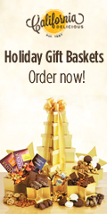 Holiday Gift Baskets from California Delicious