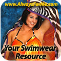 Over 60 styles of Swimwear