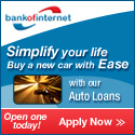 Bank of Internet Auto Loans
