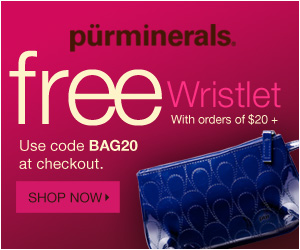 Receive a Free Wristlet Makeup Bag with Purchase