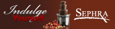 Sephra Chocolate Fondue Fountain Indulge Yourself!