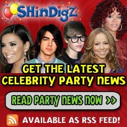 Shindigz Celebrity Party News