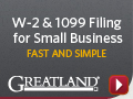 Greatland - W-2 & 1099 Filing for Small Businesses