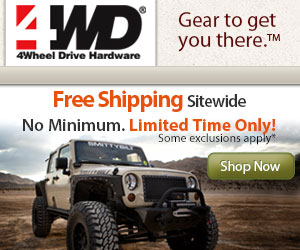 Free shipping on Jeep parts and Jeep accessories