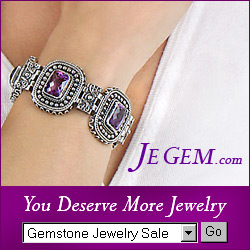 Amethyst Jewerly from JeGem.com