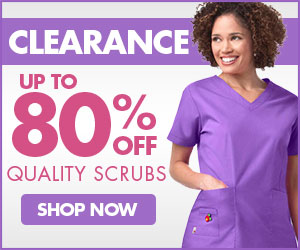 80% OFF Clearance Scrubs