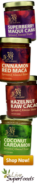 Jem Raw Almond Butters available at Live Superfoods