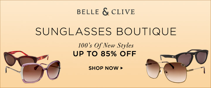 The Sunglasses Boutique: 100s Of New Styles Up To 85% Off