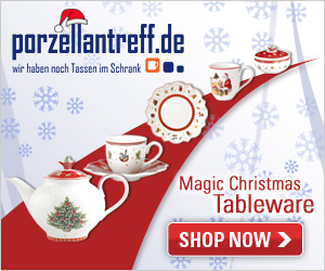 Christmas items by Villeroy & Boch are available now at Porzellantreff!