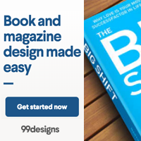 Book and Magazine Design Banner