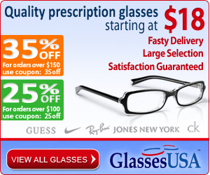GlassesUSA -The smartest way to buy eyeglasses