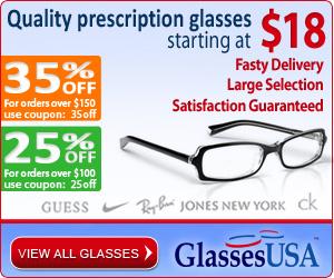 GlassesUSA - Quality eyewear starting at $18