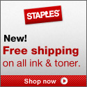 Current promotion at Staples.