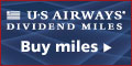 Buy US Airways Dividend Miles today!