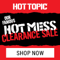 Shop our Hot Mess Clearance Sale at HotTopic.com!