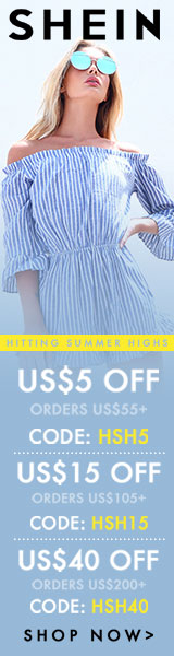 Enjoy $40 off orders $200+ with coupon code HSH40 at SheIn.com! Ends 6/26