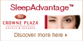 Sleep well and wake up new at Crowne Plaza