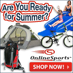 OnlineSports.com gets you ready for Summer!