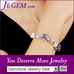 Amethyst Jewelry from JeGem.com