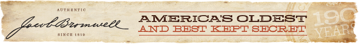 These are the products that shaped a nation.  Authentic, imperfect, and 100% pure.