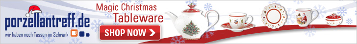 Christmas items 2016 by Villeroy & Boch are available now at Porzellantreff!