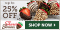 Up to 25% off Holiday Strawberries & Gourmet Gifts - 120 x 60
