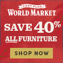 Save 40% on ALL Furniture USE CODE FURNDEAL