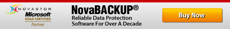 NovaBACKUP. Data Protection and Recovery Software.