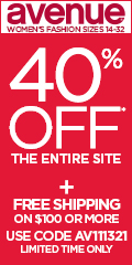 40% off Everything with code AV111321