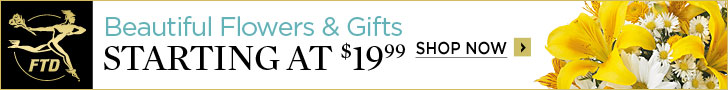 Beautiful Flowers & Gifts starting at $19.99 728 x 90