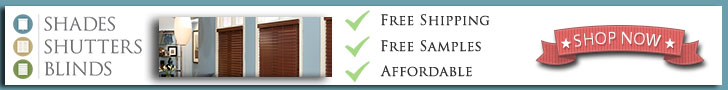 Shades Shutters Blinds - Free Shipping, Free Samples and Affordable Pricing