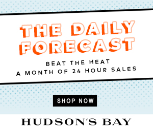 The Daily Forecast at TheBay.com. Beat the heat - a month of 24 hour sales.