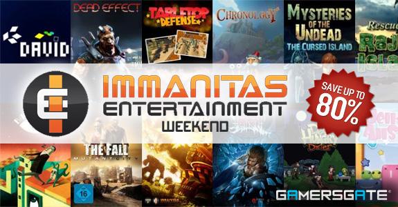 Immanitas Weekend — Save up to 80%!