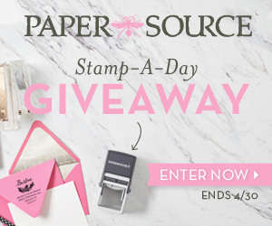 Stamp-a-day giveaway