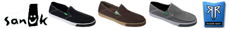 Sanuk Sandals at RazorReef.com