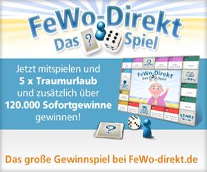 Gewinnspiel FeWo-Direkt